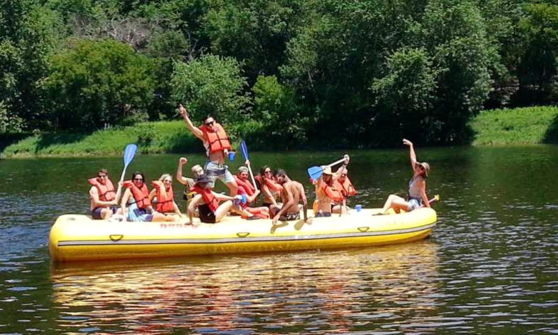 Party Raft Trips In Barryville, New York