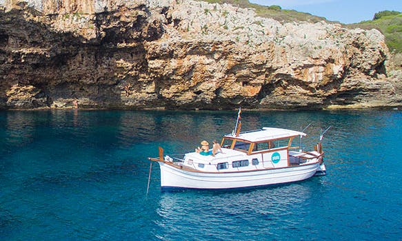 "Charter 34ft ""Binifabini"" Traditional Boat In Fornells, Spain"