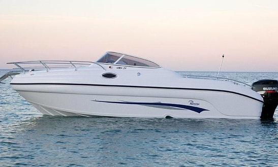 Rent 24' Ranieri Shadow Motor Yacht In Sanguinet, Nouvelle-aquitaine