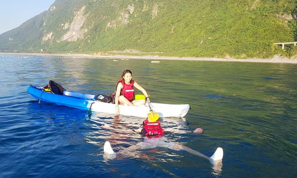 Learn to Kayak in Hualien City, Taiwan