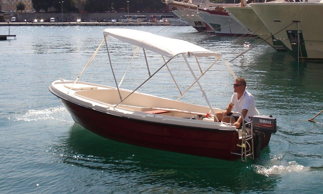 Rent a 16' M-Sport 500 Dinghy in Island Ist, Croatia