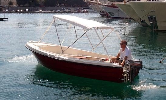 Rent A 16' M-sport 500 Dinghy In Island Ist, Croatia
