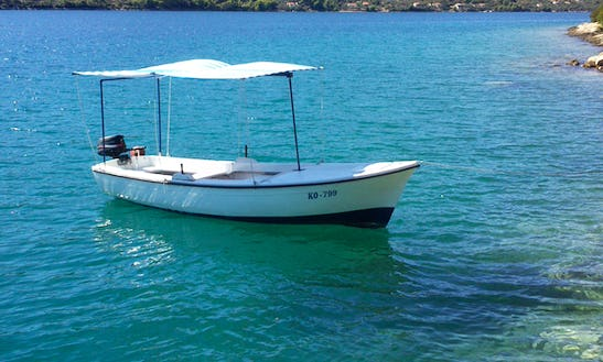 Rent 15' Jugoplastika Dinghy In Vela Luka, Croatia