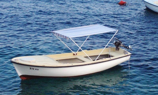 Rent 16' Elan Dinghy In Vela Luka, Croatia