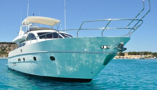 Charter 65' Antago Power Mega Yacht In San Vito Lo Capo, Italy