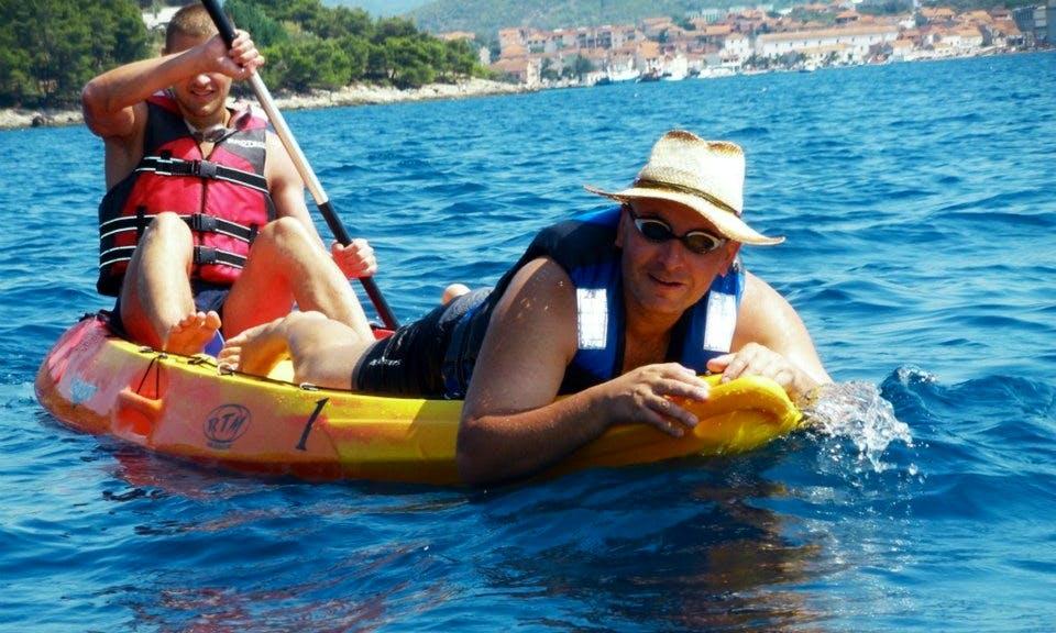 Rent a Kayak in Vela Luka,Croatia