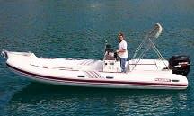 Charter 23' Rigid Inflatable Boat in Porto Santo Stefano, Italy