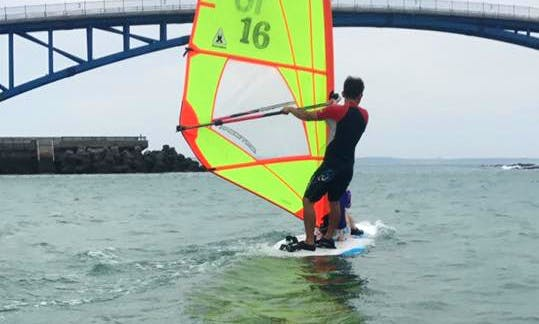 Enjoy Windsurfing and Stand Up Paddleboarding in Magong City, Taiwan
