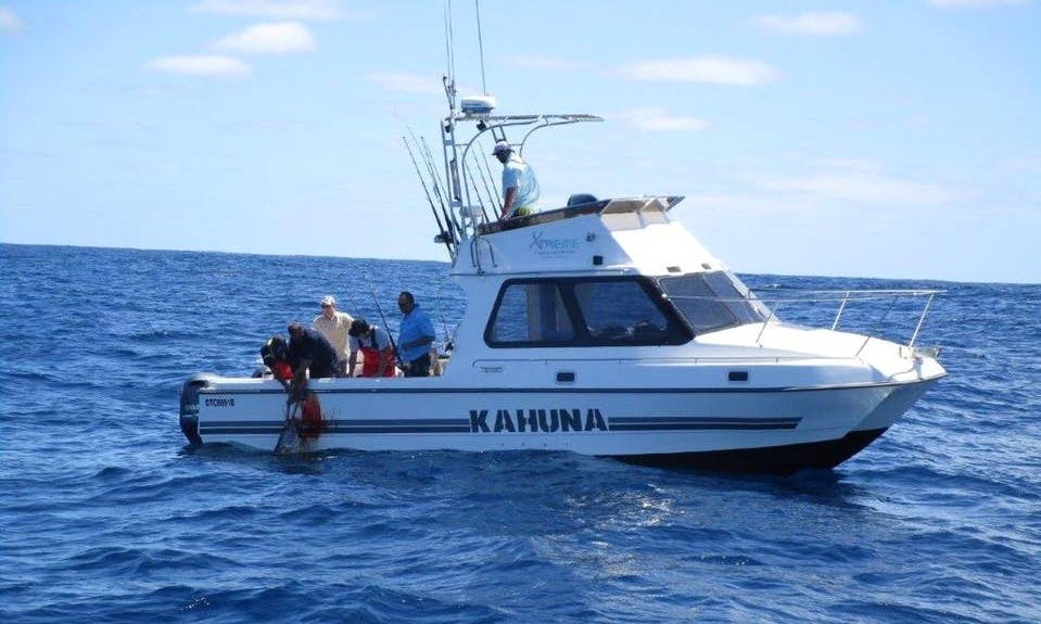 Enjoy Fishing in Cape Town, Western Cape with Captain James