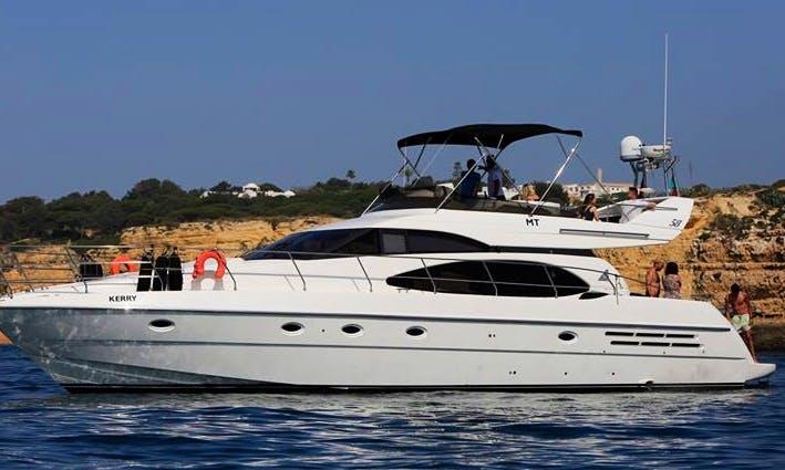Charter a Motor Yacht in Algarve, Portugal