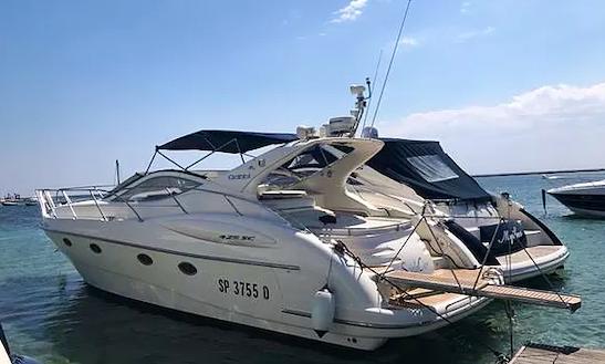 Charter 49' Atlantis Motor Yacht In Porto Cesareo, Italy