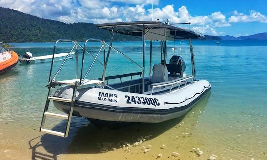 Charter 24' Mars Rigid Inflatable Boat In Whitsundays, Australia