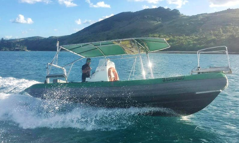 Charter 22' Comet Rigid Inflatable Boat in Whitsundays, Australia