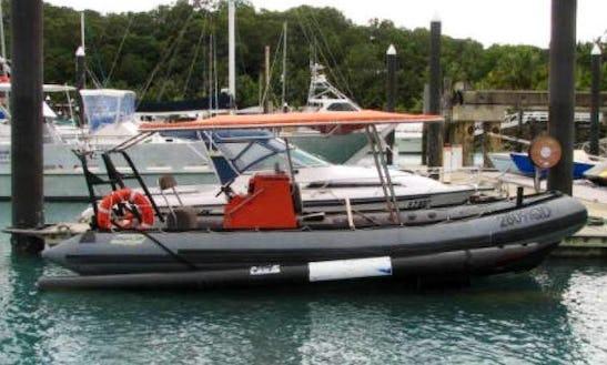 Charter 22' Saturn Rigid Inflatable Boat In Whitsundays, Australia