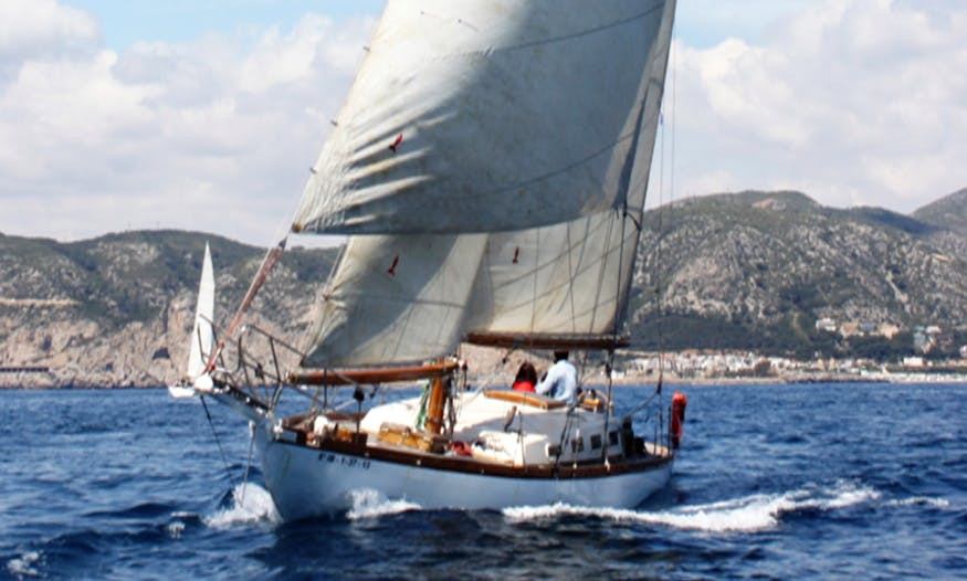 "Sailing Charter On 46ft ""Tagomago"" Sailboat In Barcelona, Spain"