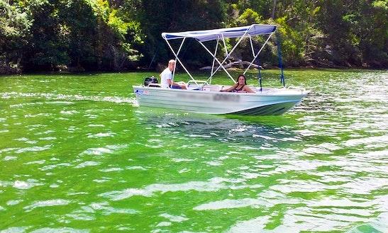 Hire 4 Seater Tinnies At Akuna Bay