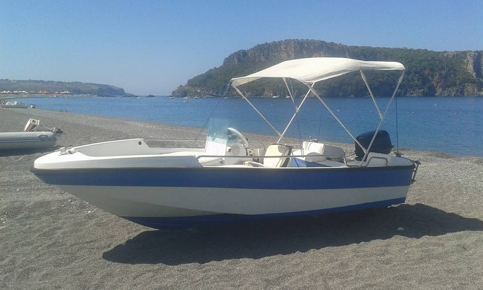 Rent a Bowrider in Praia A Mare, Italy