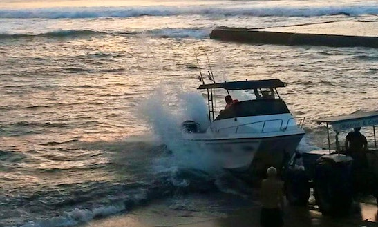 Enjoy Fishing In Margate, Kwazulu-natal On Tackle Box Power Catamaran