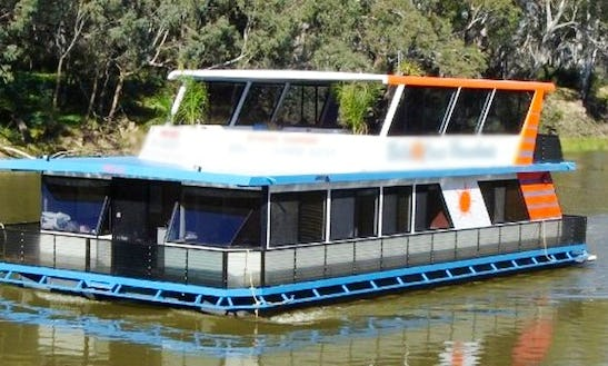 Memorable Vacation On 12 Person Houseboat In Victoria, Australia