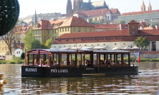 Charter A Canal Boat In Prague, Czech Republic