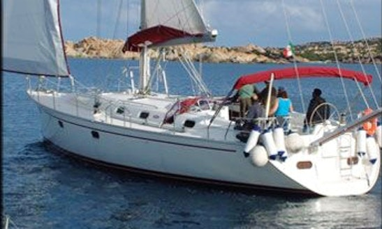 Charter 52' Gibsea 51 Crusing Monohull In Palau Ot, Italy