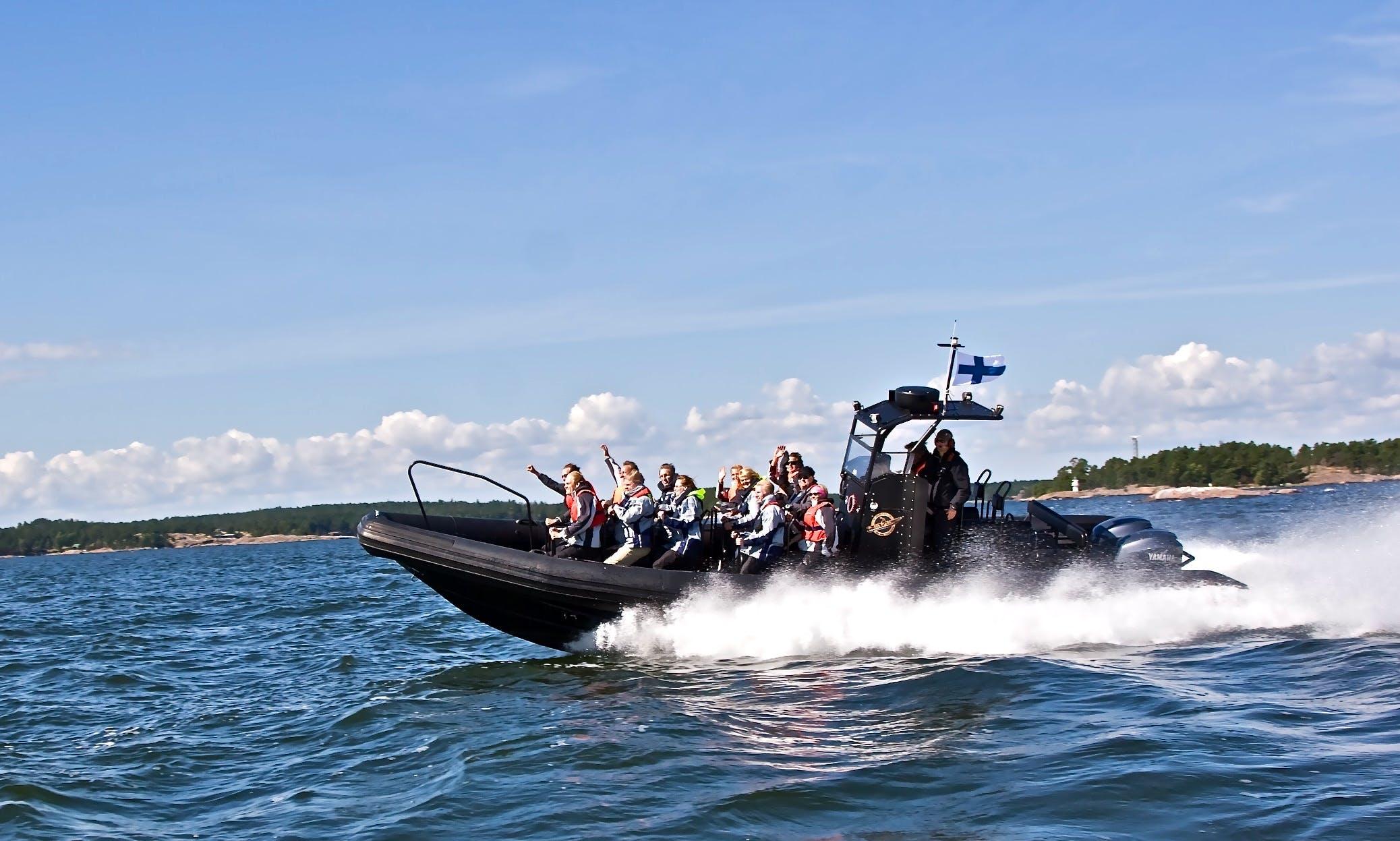 Charter Speed Open C-3500 Rigid Inflatable Boat in Helsingfors, Finland