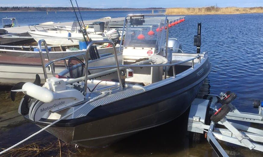 Enjoy Fishing in Korsholm, Finland on 20' Center Console