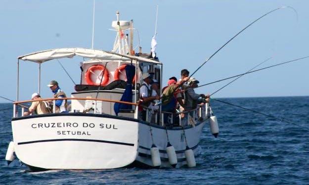 Enjoy Fishing in Lisboa, Portugal on Trawler