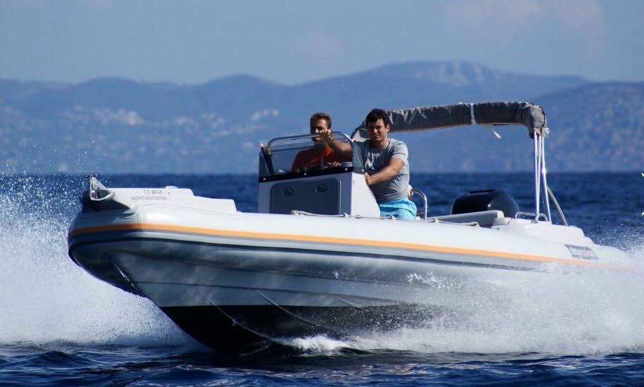 RIB for rent available in Limassol, Cyprus