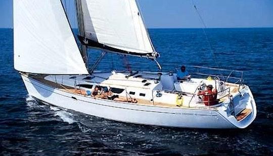 Charter 43' Jeanneau Sun Odyssey In Santo Stefano Al Mare, Italy