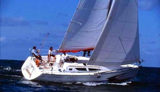 Charter A 35' Jeanneau Sun Fast Sailboat And Explore Santo Stefano Al Mare, Italy
