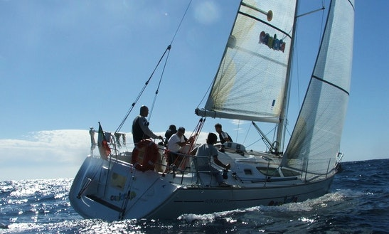 Stunning Jeanneau Sun Fast Sailboat For 9 Person In Santo Stefano Al Mare, Italy