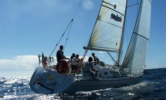 Stunning Jeanneau Sun Fast Sailboat For 9 Person In Santo Stefano Al Mare, Italy
