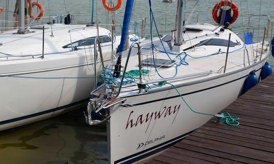 Charter 8 People Delphia Sailing Yacht In Ruciane-nida, Poland