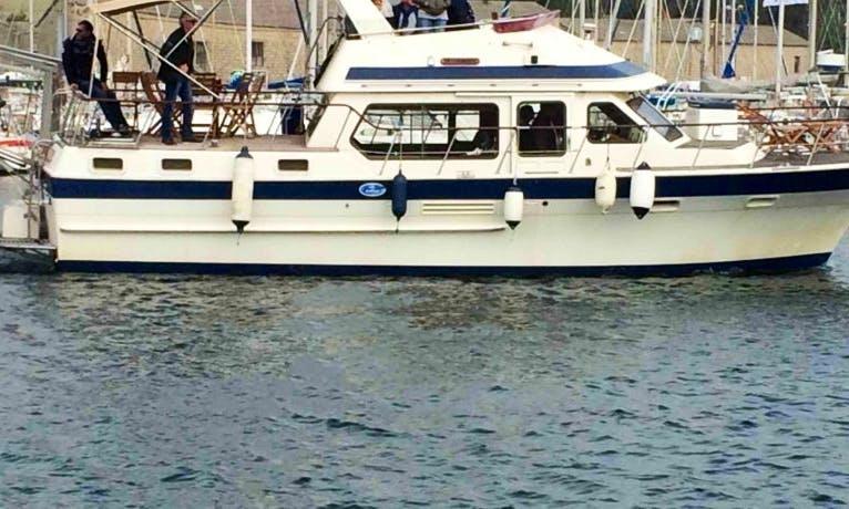 Charter 48' Raffaeli Trawler in Porto-Vecchio, France