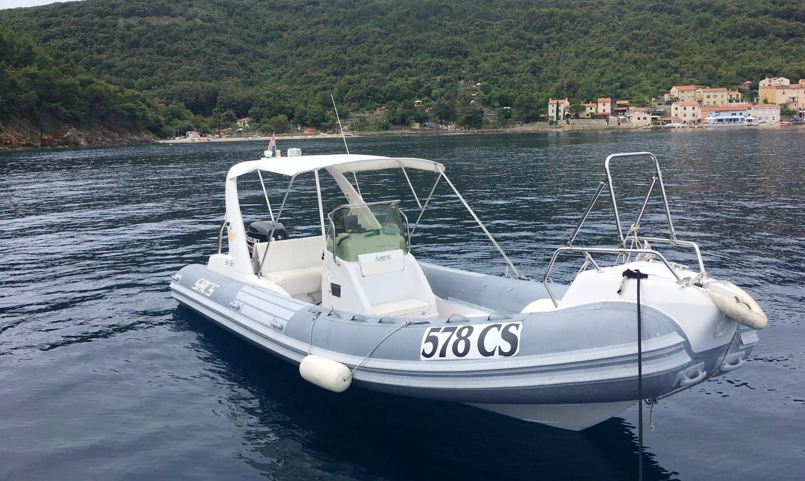 Charter a Rigid Inflatable Boat in Valun, Croatia