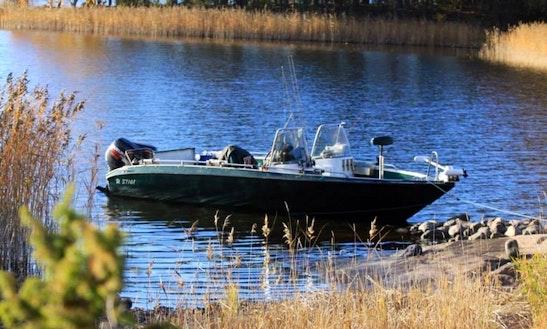 Enjoy Fishing In Kyrkslätt, Finland On Jon Boat