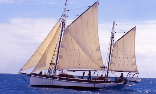 Charter Gulet In In Queensland, Australia