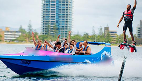Enjoy Flyboarding In Queensland, Australia