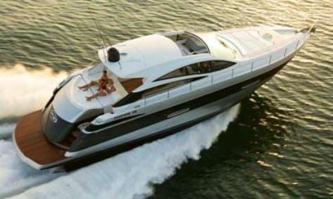 Charter 59' Pershing Power Mega Yacht In Napoli, Italy