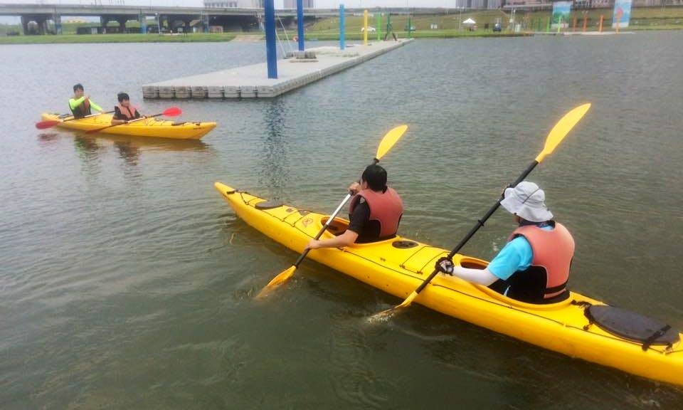 Enjoy Kayaking in Beitou District, Taipei