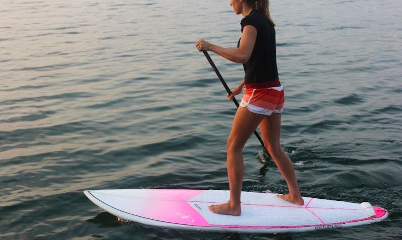 Enjoy Stand Up Paddleboarding in Beitou District, Taipei City