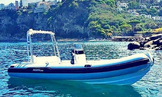 Charter 19' Predator Rigid Inflatable Boat In Vico Equense, Italy