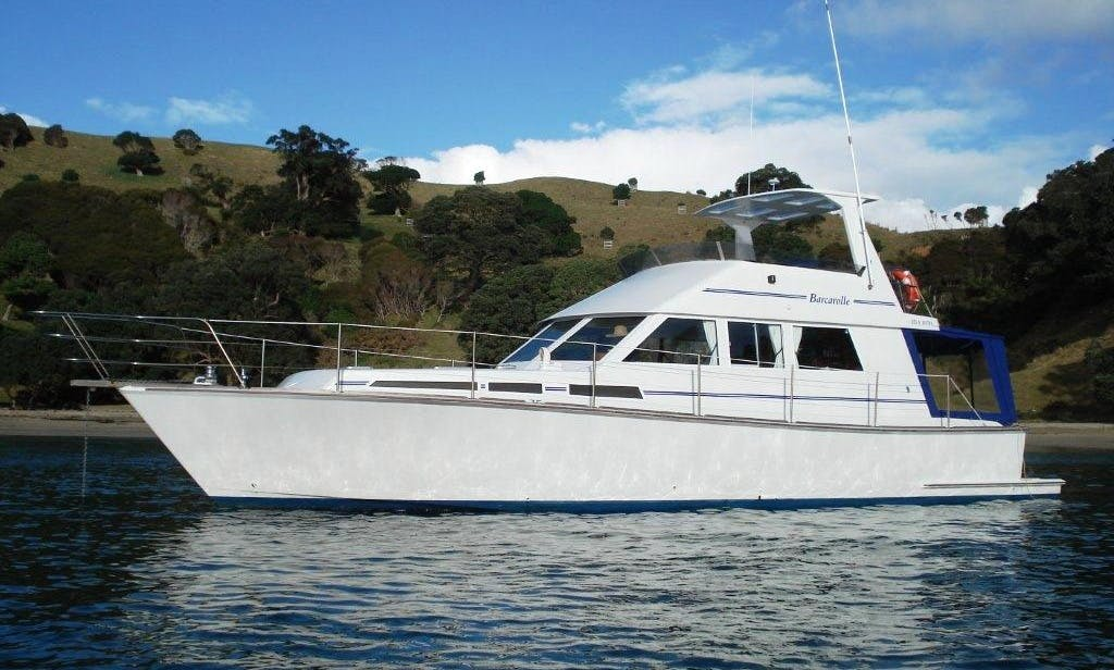 Charter 54' Elegant Power Mega Yacht in Auckland, New Zealand