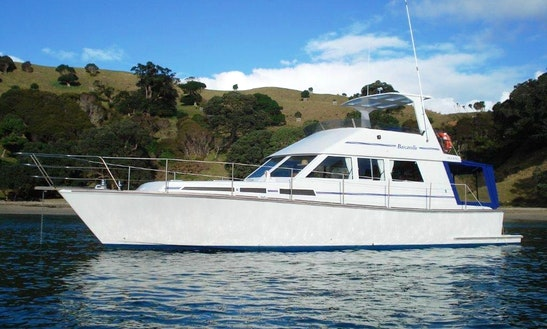 Charter 54' Elegant Power Mega Yacht In Auckland, New Zealand
