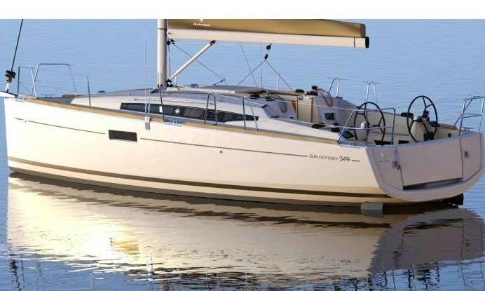 Charter 34' Sun Odyssey Cruising Monohull in Hyères, France