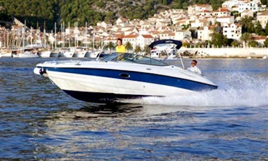 Charter 26' Crowline Ex 260 Bowrider In Hvar, Croatia