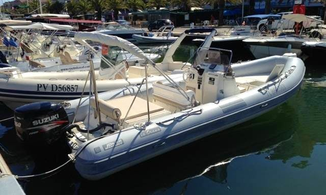 Rent 25' Clubman Rigid Inflatable Boat in Hyères, France