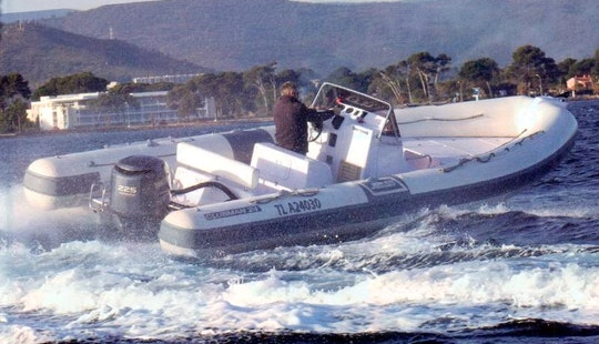 Rent 25' Clubman New Rigid Inflatable Boat In Hyères, France