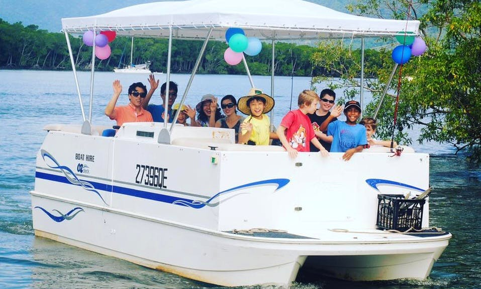 Hire a 10 Person Pontoon in Queensland, Australia!